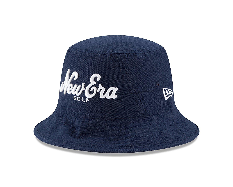 New Era Golf Stacked Logo Bucket Hat-LXL - WF Shopping d2f421a0fc6