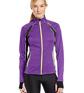 Sugoi Women's Firewall 180 Front-Zip Jacket with Reflective Ribbon