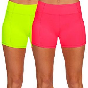Womens Active Workout Running Shorts