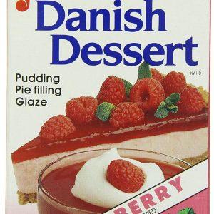 Junket Danish Dessert Raspberry