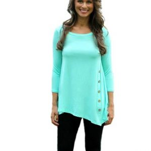 Jade Womens Loose Pullover T Shirt