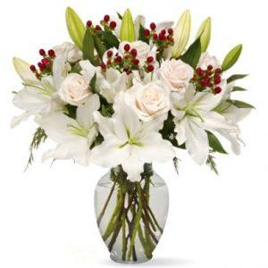 Benchmark Bouquets White Elegance