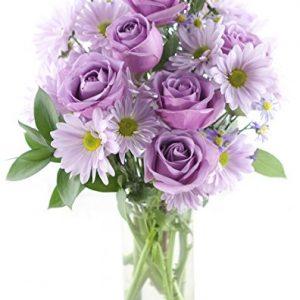 Purple Passion Daisy & Rose Bouquet