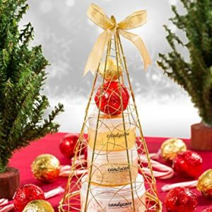 Christmas tree bath and body perfumed gift set