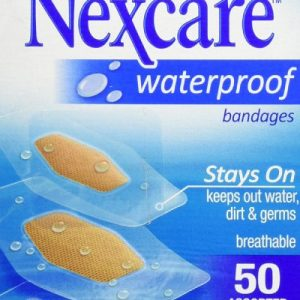 Nexcare Waterproof Clear Bandage