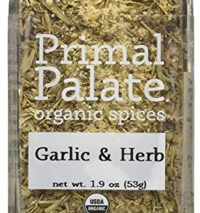 Primal Palate Organic Spices Garlic & Herb