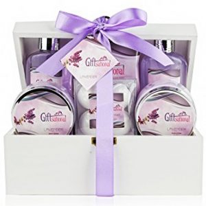 Spa Gift Basket with Sensual Lavender Fragrance