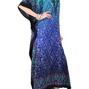 Tunic Kimono Dress Ladies Summer Women Evening Maxi Party Plus Size