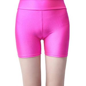 Speerise Womens Nylon Spandex Elastic Waist Stretch Leggings Boy Shorts
