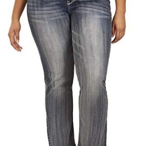 WallFlower Plus Size Luscious Curvy Bling Bootcut Jeans