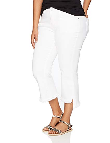 dollhouse Women's Plus Size White Jr Denim