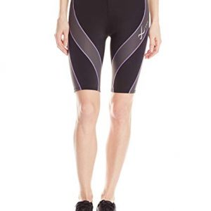 CW-X Women's Mid Rise Muscle Support Performx Compression Short
