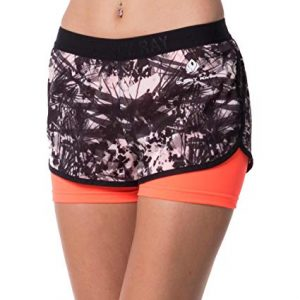Guely Ray Women's Active Shorts for Workout & Training with Hidden Pocket, 10 Styles