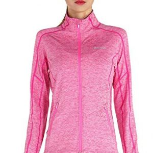 Women's Jogging Track Jacket Full Zip Athletic Sweatshirt for Summer