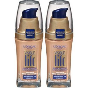 L'Oreal Paris Cosmetics Visible Lift Serum Absolute Foundation, Natural Buff