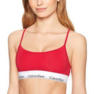 Calvin Klein Women's Modern Cotton Skinny Strap Bralette