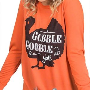 Gobble Y'all O-Neck T-Shirt