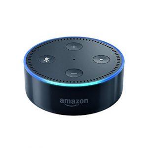 Smart speaker with Alexa - Black
