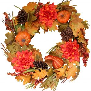 The Wreath Depot Oakwood Silk Fall
