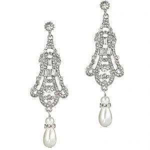 Flapper Art Deco Gatsby Earrings