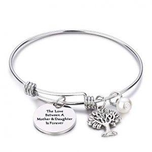 Tree of Life Bracelet Mother Gift Bangle