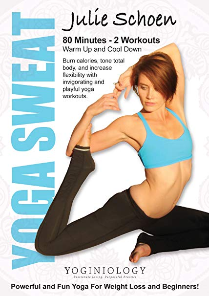 Yoga Sweat Yoga DVD for Weight Loss