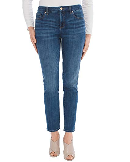 Slimming Girlfriend Ankle Jeans