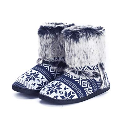 Calf Boot Slippers