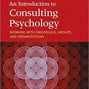 Consulting Psychology