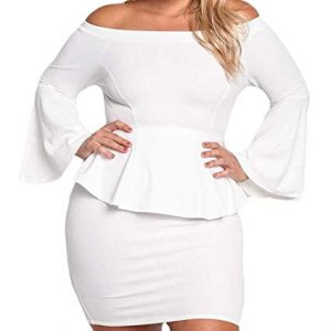 Party Plus Size Mini Dress