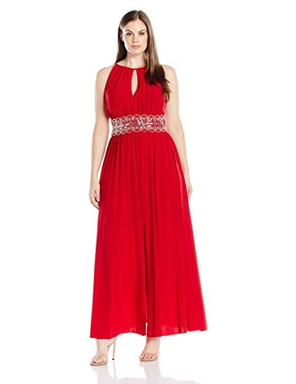 Halter Evening Gown