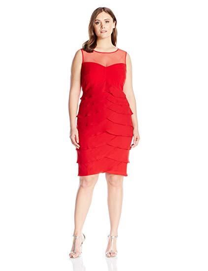 Georgette Sheath Dress