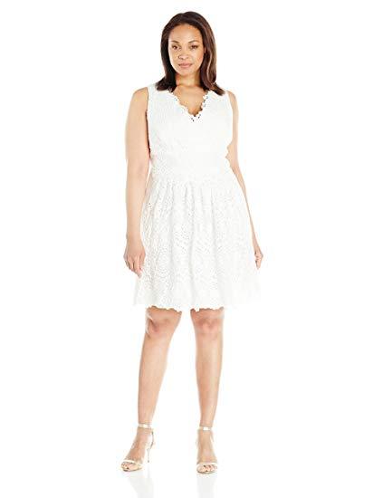 Flare Lace Dress