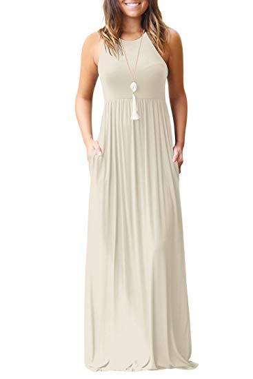 Plain Maxi Dresses