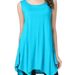 Sleeveless T-Shirt Tank