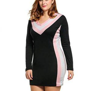 V-Neck Midi Dress