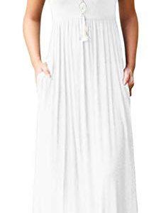 Loose Plain Maxi Dresses