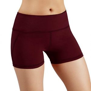 Yoga Shorts with Hidden Pocket