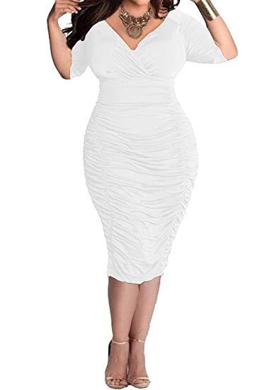 Waisted Bodycon Dress