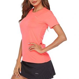 Neck Athletic Tops