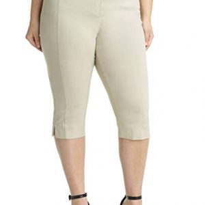 Curvy Fit Plus Size Capri