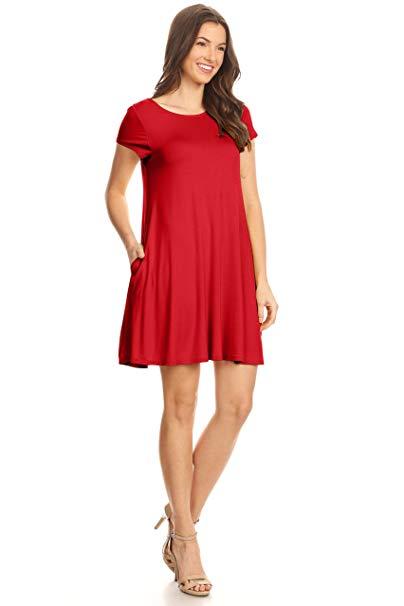 Casual T Shirt Dress