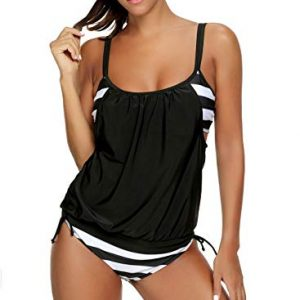 Women's Two Piece Stripe