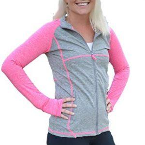 Full Zip Pink Sports Jacket