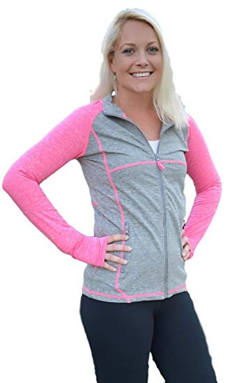 Full Zip Pink Sports Jacket