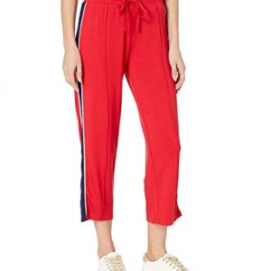 Terry Crop Track Pant