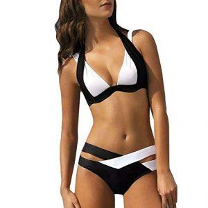Print Bandage Swimsuit