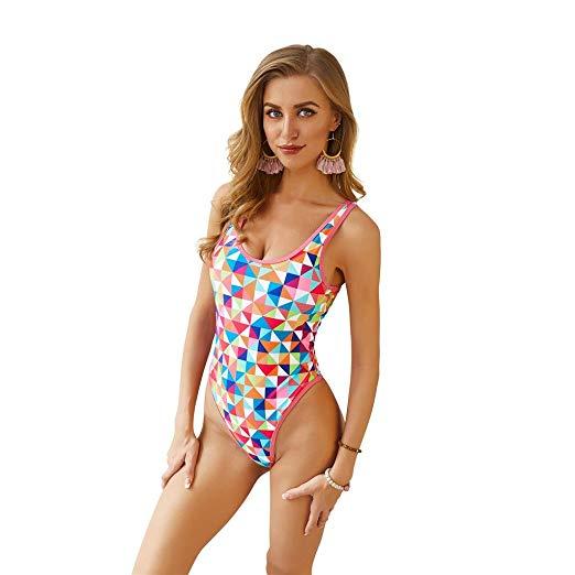 Backless Bikini Set