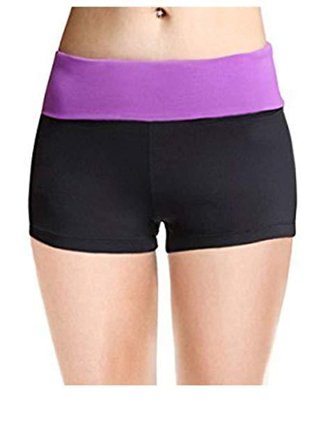 Yoga Shorts for Women Soft Sleek Workout Fit - WF Shopping