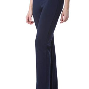 Leg Dress Pant; Pull On